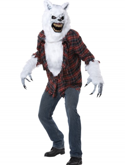 Adult White Lycan Werewolf Costume buy now