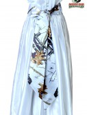White Mossy Oak Bridal Sash buy now