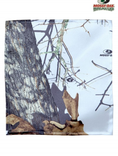 White Mossy Oak Pocket Square buy now