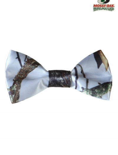 White Mossy Oak Pre-Tied Bow Tie buy now