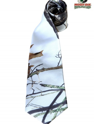 White Mossy Oak Self-Tie Windsor buy now