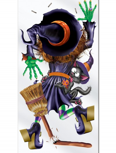Witch Crashing Door Cover buy now