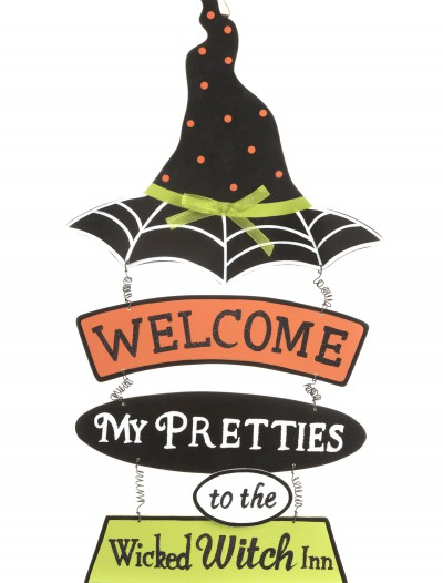 Witch Hat Welcome Sign buy now