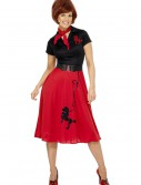 Womens 50s Style Poodle Costume buy now