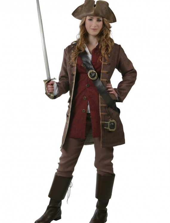 Womens Authentic Caribbean Pirate Costume buy now