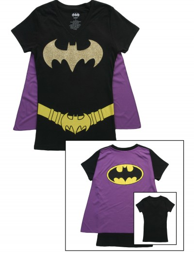 Womens Batgirl Cape T-Shirt buy now
