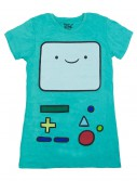 Womens Beemo Face Costume T-Shirt buy now