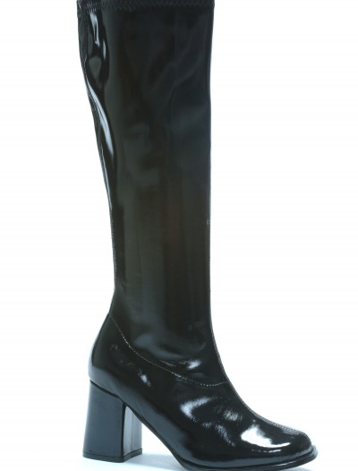 Womens Black Gogo Boots buy now