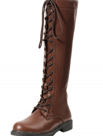 Women's Brown Lace Up Boots buy now