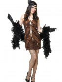 Women's Brown Sugar Flapper Costume buy now