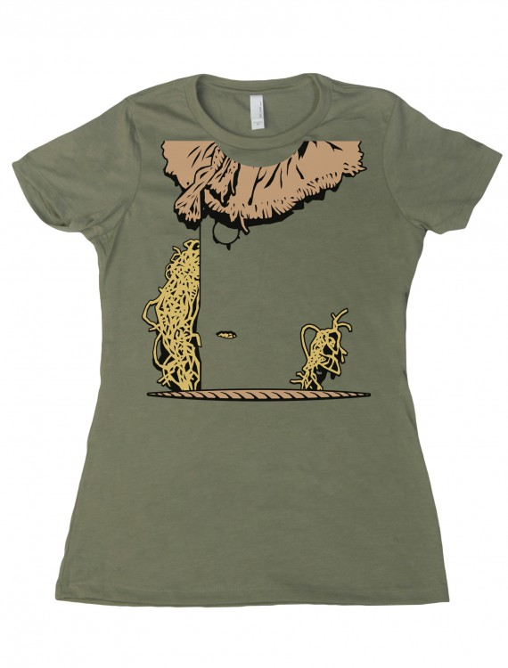 Womens Costume Scarecrow T-Shirt buy now