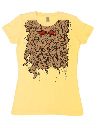 Womens Curly Lion Costume T-Shirt buy now