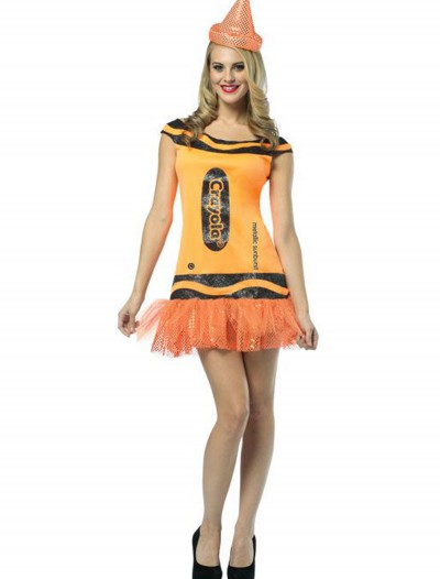 Women's Crayola Glitz Orange Dress buy now