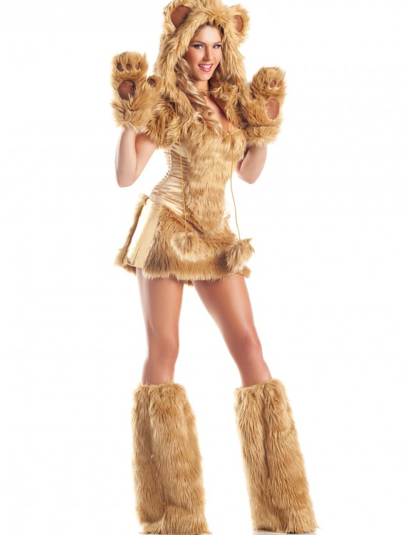 Womens Deluxe Golden Bear Costume buy now