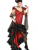 Women's Deluxe Spanish Dancer Costume buy now