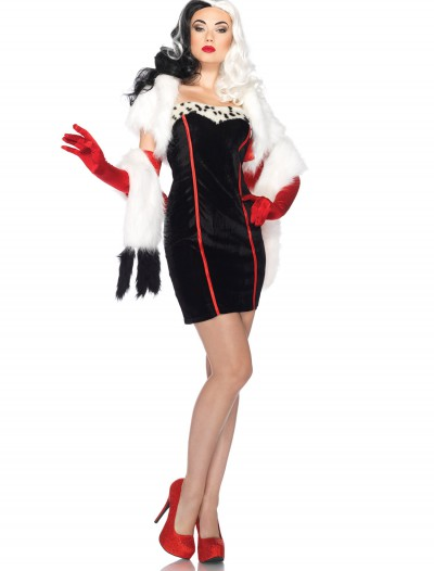 Women's Disney Cruella Costume buy now