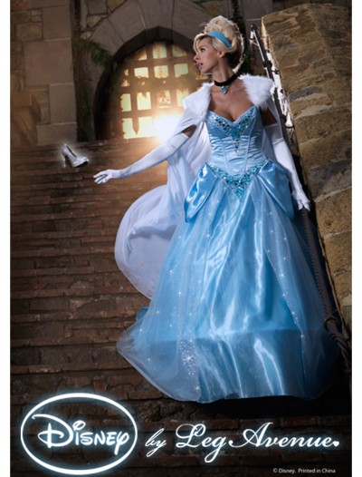 Womens Disney Deluxe Cinderella Costume buy now