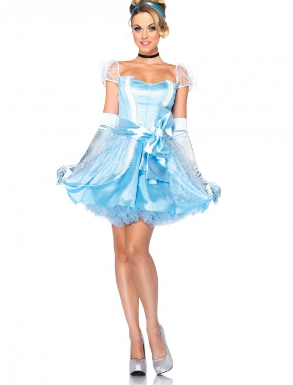 Womens Disney Glass Slipper Cinderella Costume buy now