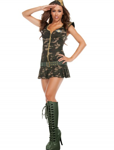 Womens Dreamy Sergeant Costume buy now
