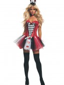 Women's Feisty Queen of Hearts Costume buy now