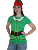 Womens Festive Elf T-Shirt buy now