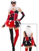Women's Harley Jester Costume buy now