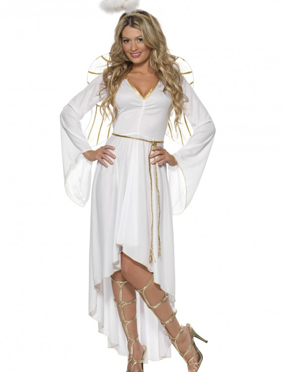 Womens High-Low Angel Costume buy now