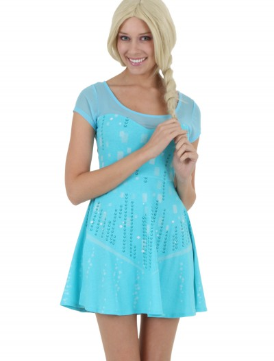 Womens I Am Elsa Frozen Dress buy now