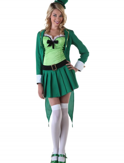 Womens Lucky Leprechaun Costume buy now