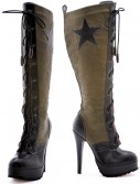 Womens Military Boots buy now
