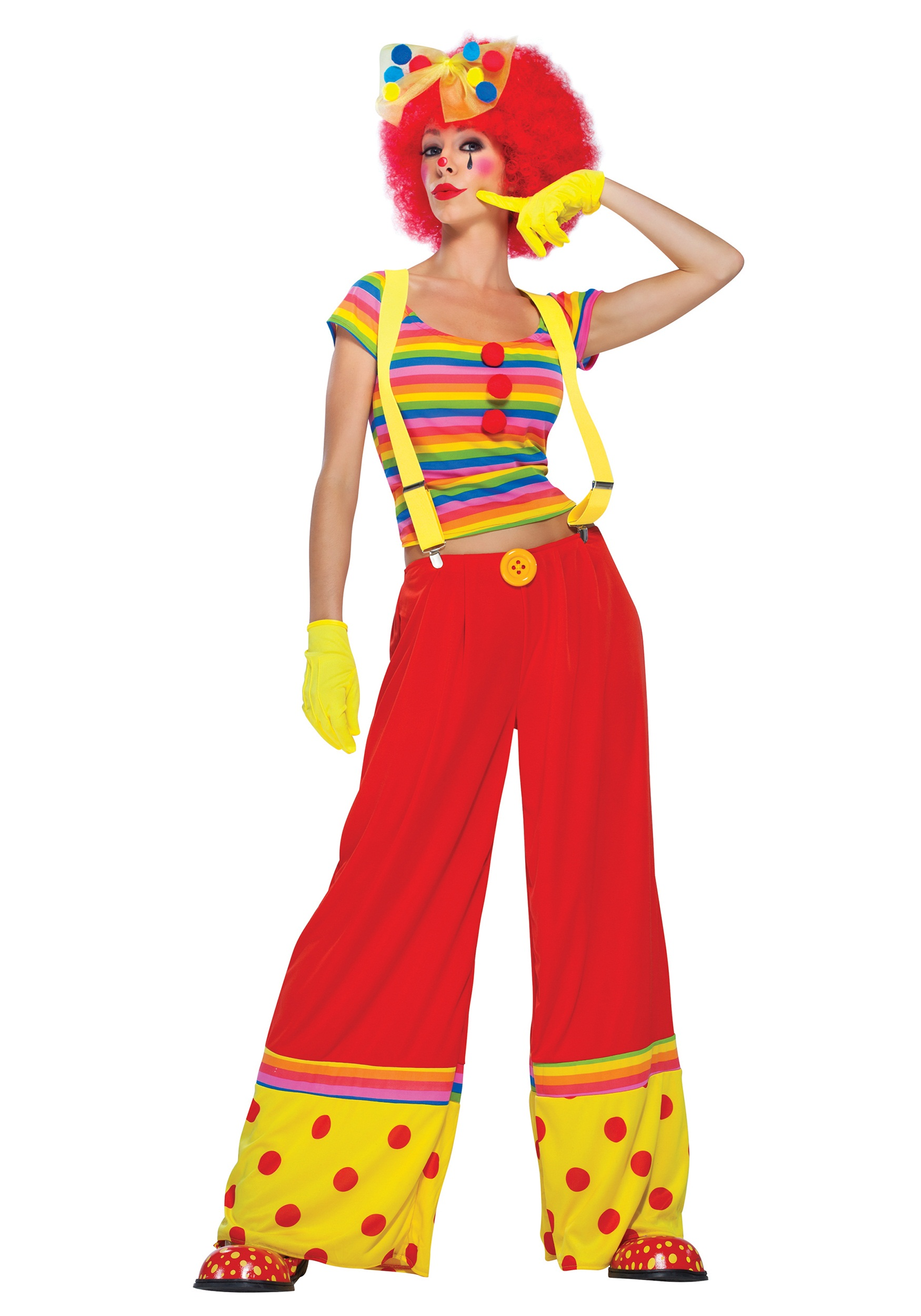 Womens Moppie the Clown Costume  sc 1 st  Halloween Costumes & Womens Moppie the Clown Costume - Halloween Costumes