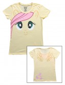 Womens My Little Pony Fluttershy Face T-Shirt buy now