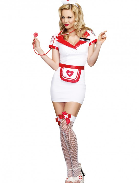 Women's Nurse Jess Bendover Costume buy now
