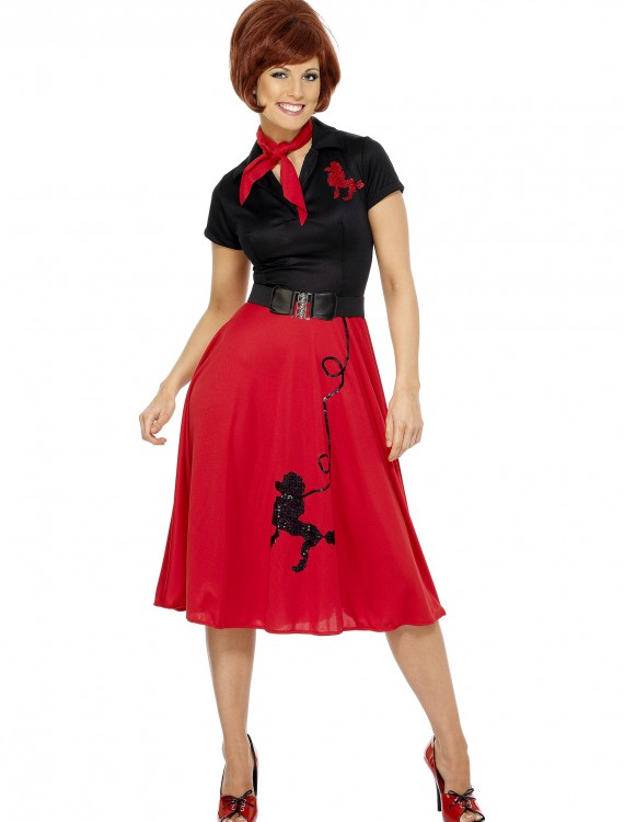Women's Plus Size 50s-Style Poodle Skirt Costume buy now