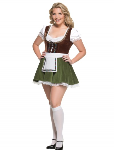 Women's Plus Size Bavarian Girl Costume buy now