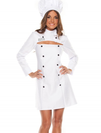 Womens Plus Size Chef Costume buy now