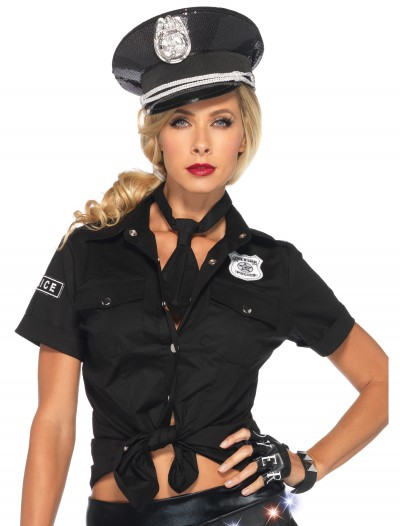 Womens Police Shirt & Tie buy now