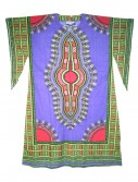Women's Purple Long Dashiki Dress buy now