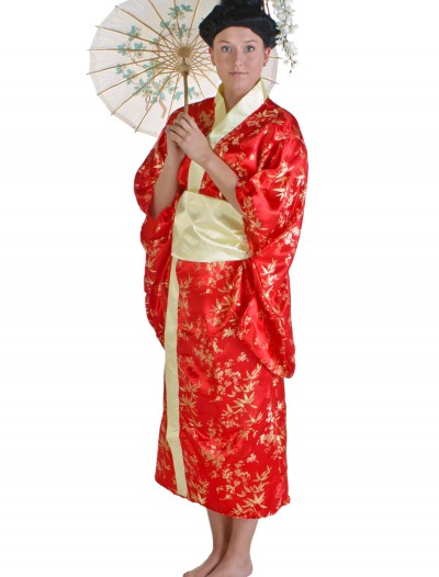 Womens Red Kimono buy now