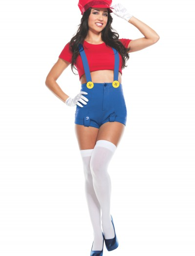 Womens Red Player Costume buy now
