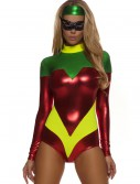 Womens Red Superhero Accomplice Costume buy now