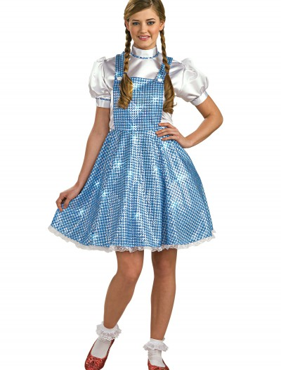 Womens Sequin Dorothy Costume buy now