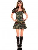 Women's Sexy Army Brat Costume buy now