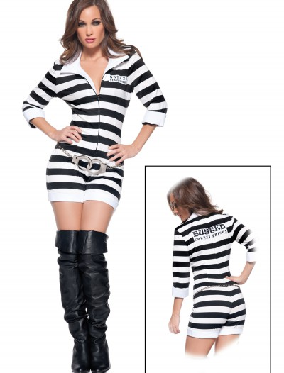 Womens Sexy Jailbird Costume buy now