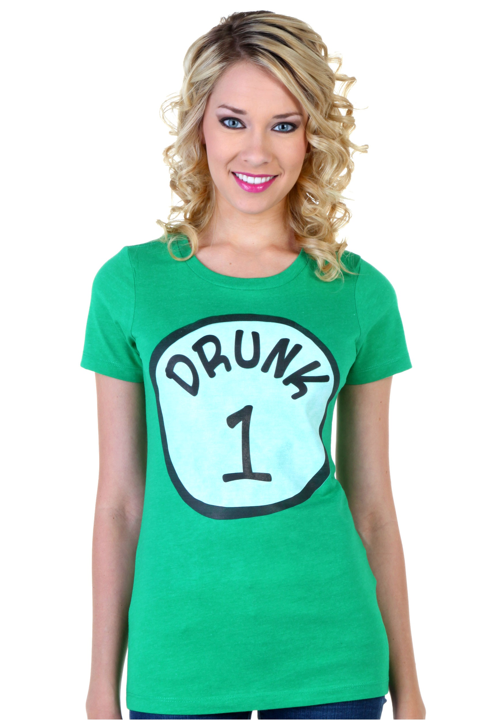 8351ee6ed Womens St. Patricks Day Drunk 1 T-Shirt - Halloween Costumes
