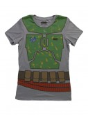 Womens Star Wars Boba Fett Costume T-Shirt buy now