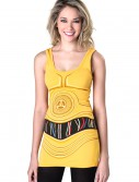 Womens Star Wars C3PO Tunic Tank buy now