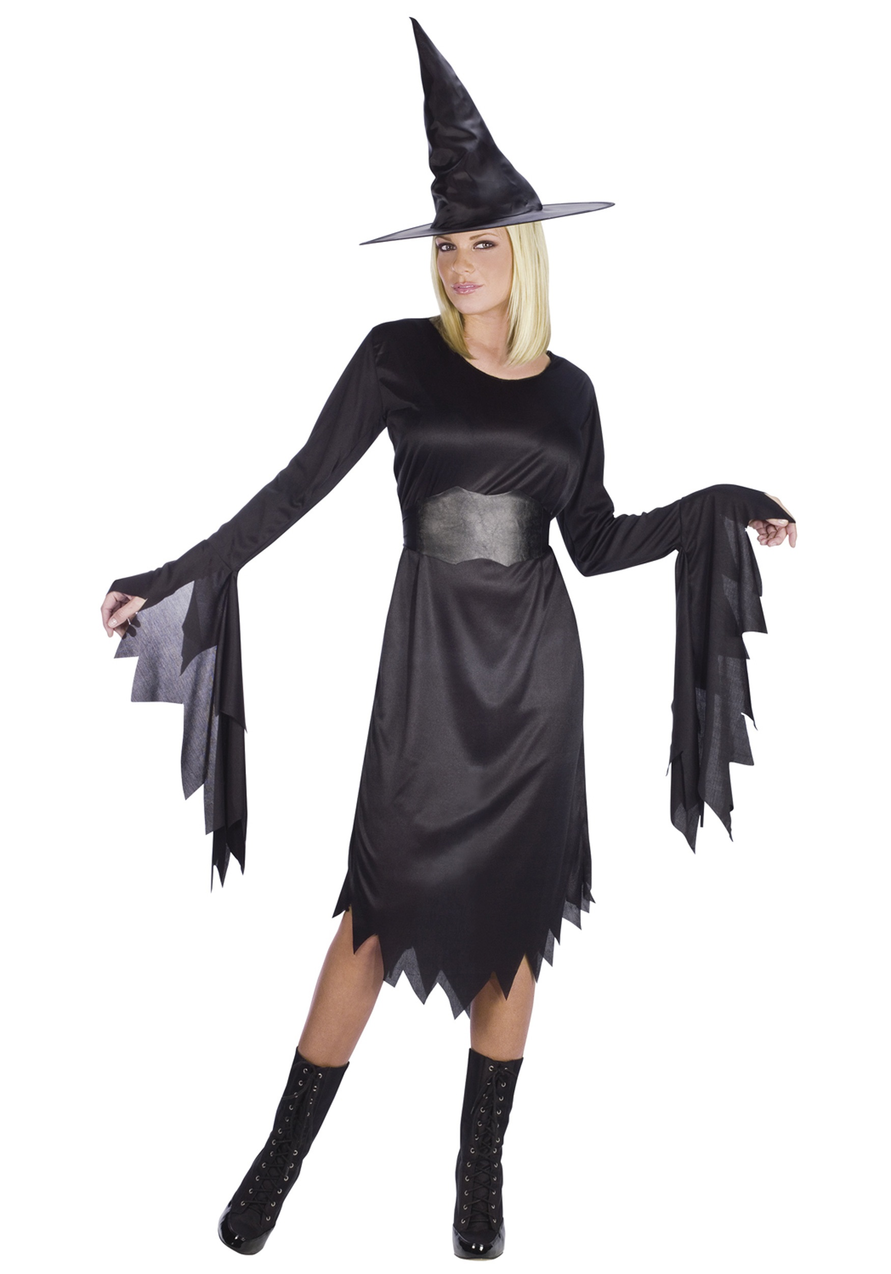 women's tattered witch costume - halloween costumes