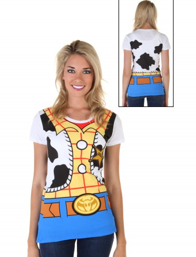 Womens Toy Story I Am Woody Costume T-Shirt buy now