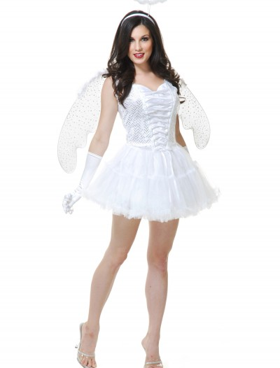 Women's White Angel Costume buy now